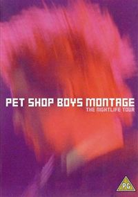 Cover Pet Shop Boys - Montage - The Nightlife Tour [DVD]